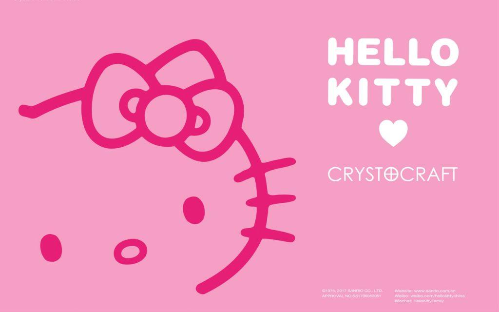 Crystocraft 圣诞水晶 礼品 Hello kitty 个性定制 ebzasia.com